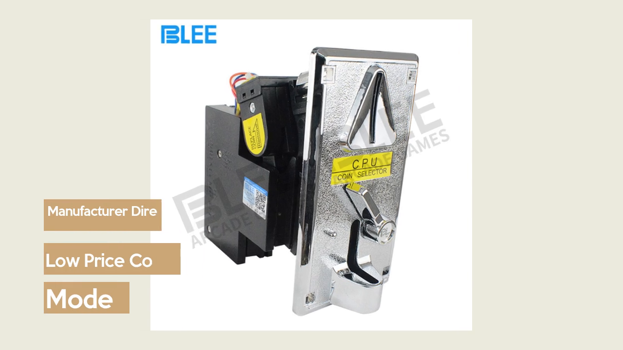 Customized Coin Acceptor For Game Slot Machine | Blee