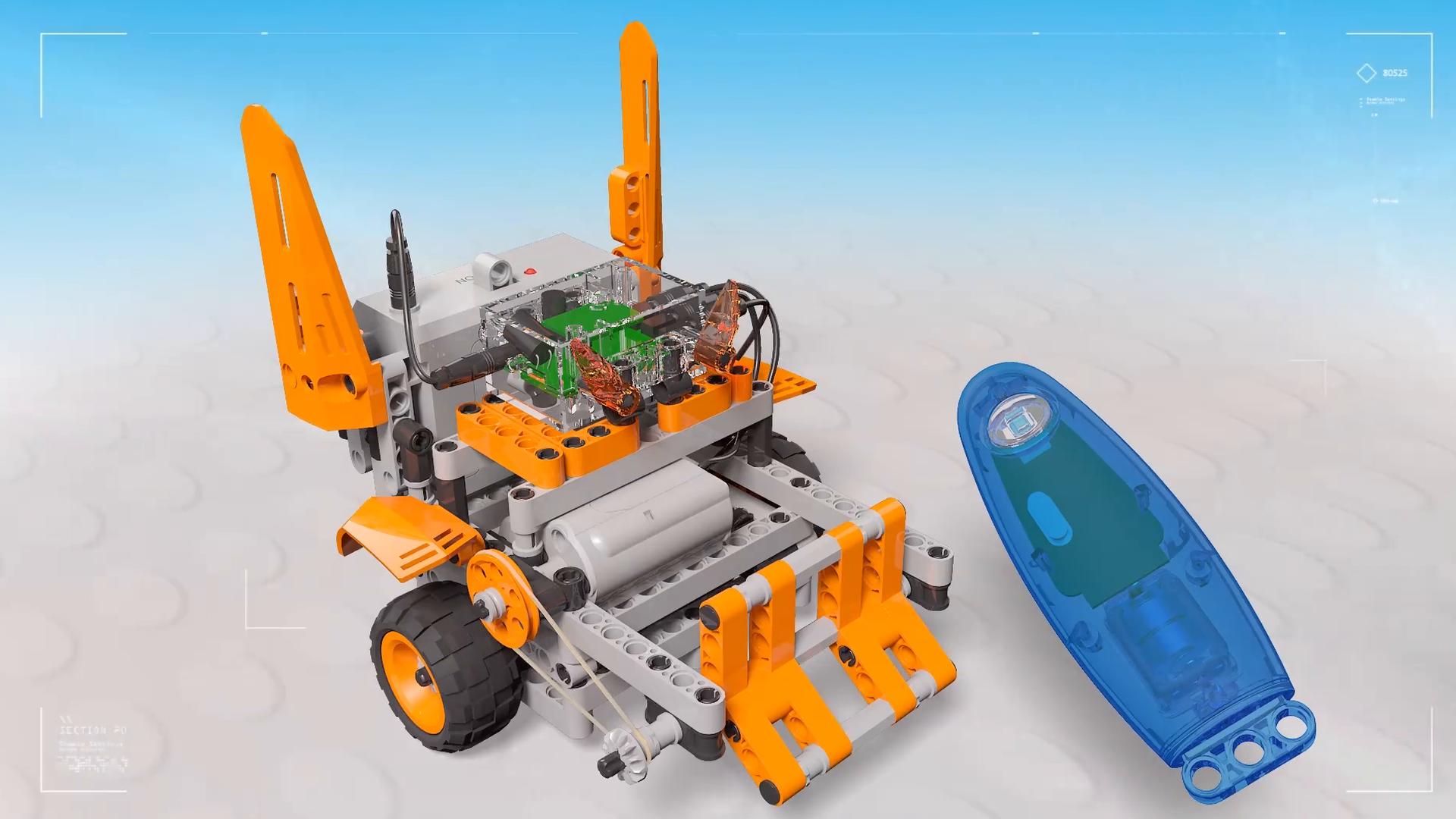 Steam Block Toys Somatosensory remote control robot Model: 6925