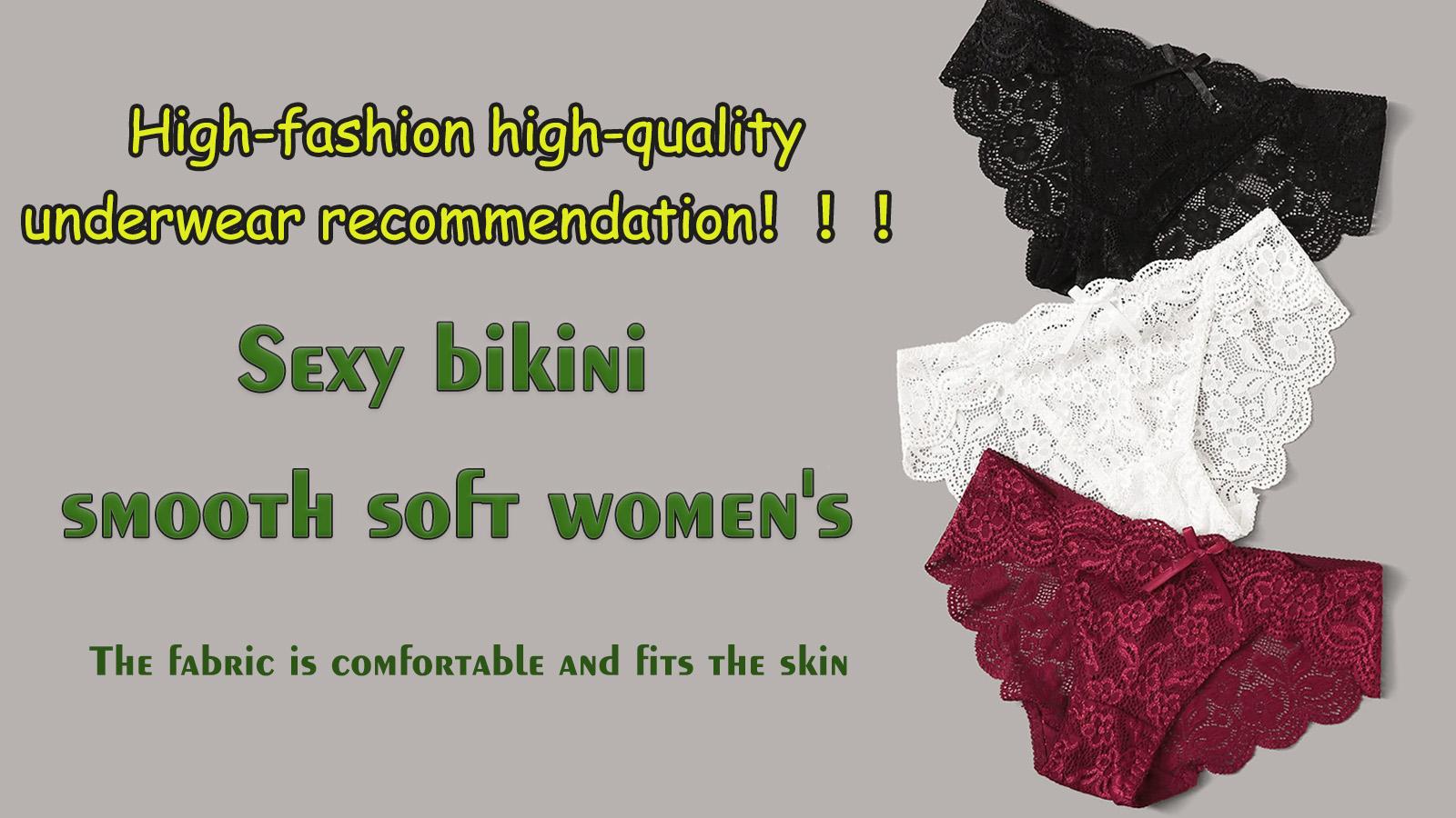 Hot Sexy Bikini Smooth Soft Colorful Lace Women panties Underwear 8933