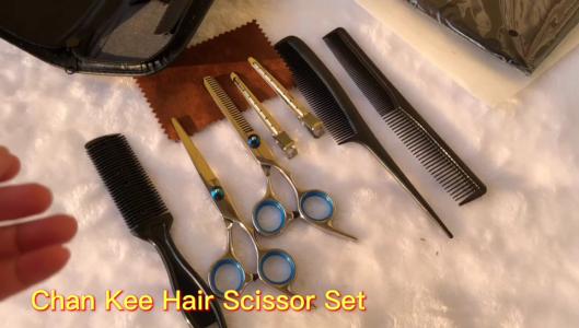 Chan Kee Juego de tijeras para el cabello Juego de adelgazamiento para corte de cabello Uso familiar Juego de cuidado de belleza para el cabello Fabricante