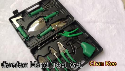 أدوات يدوية للحدائق من Chan Kee ، مقصات تقليم الحدائق ، 11 قطعة ، مجموعة أدوات تقليم الحدائق المنزلية المزهرة