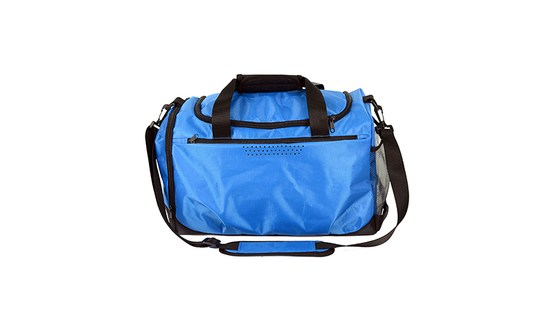 Blue quality custom logo duffel travel bag sports athletic bag Outdoor Practical New Hot Stylish duffle bag