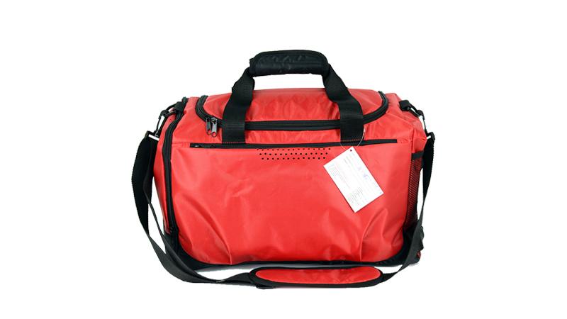 Red quality custom logo duffel travel bag sports athletic bag Outdoor Practical New Hot Stylish duffle bag