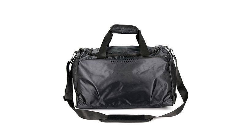 Black quality custom logo duffel travel bag sports athletic bag Outdoor Practical New Hot Stylish duffle bag