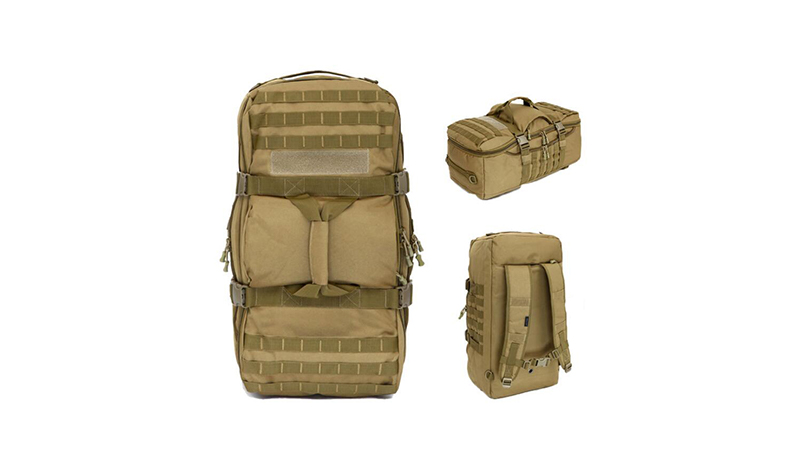 Military Tactical Backpacks Molle Army Assault Pack High Quality Cow Hide Leather Travel Duffel Bag Leather Travel Tote Bag