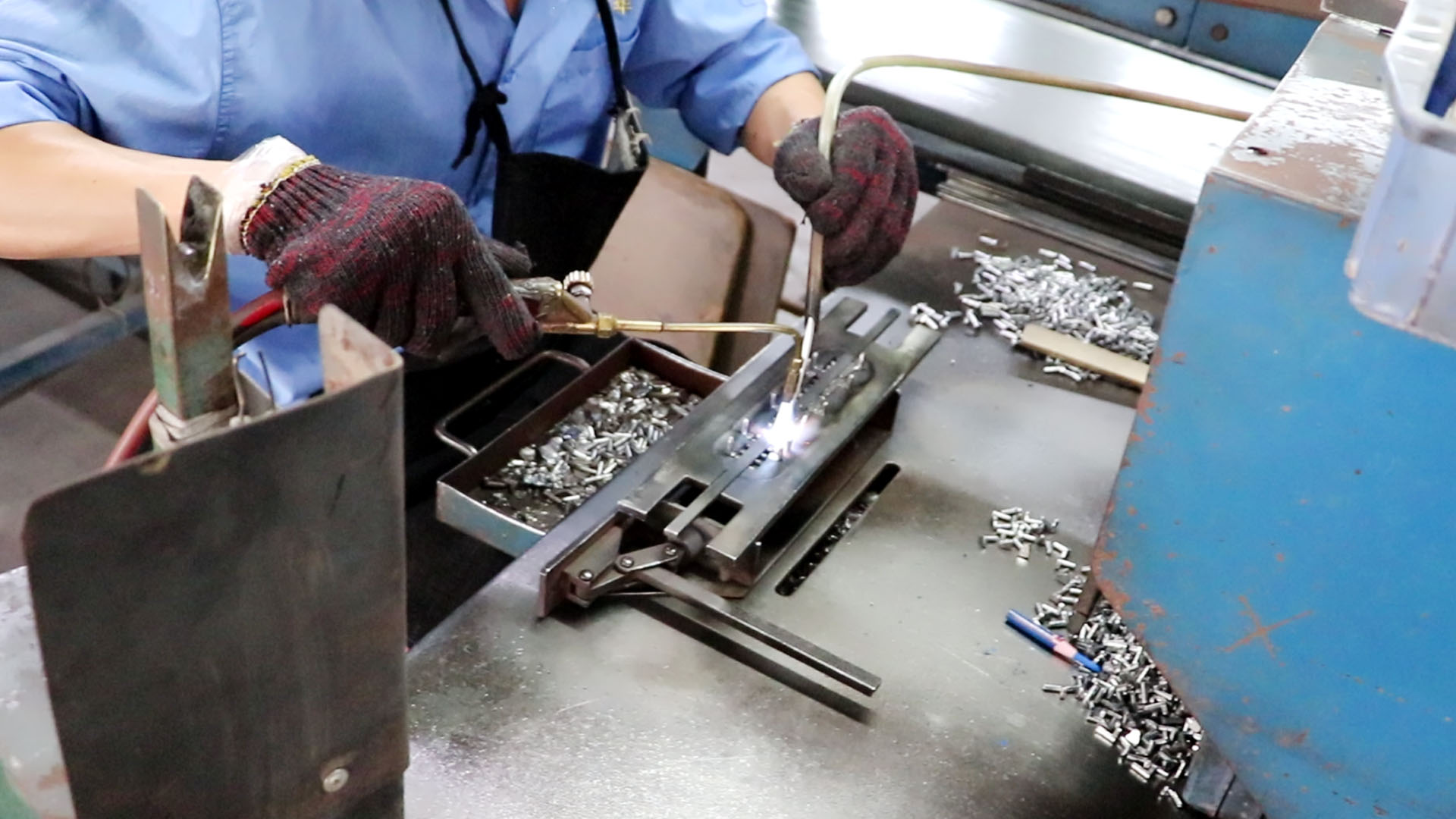 Chaque lien de production de la batterie