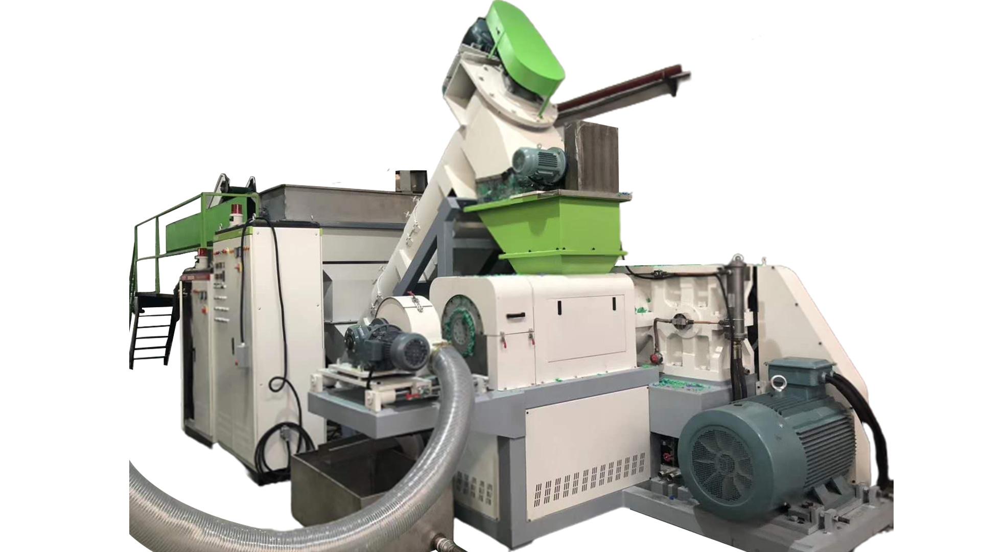 Best Plastic Squeezing Machine for PP PE films Supplier