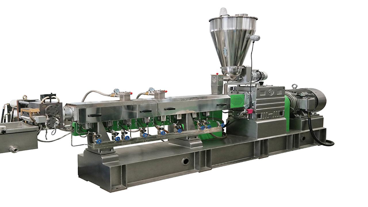 Plastic Pelletizing Machine for PET flakes