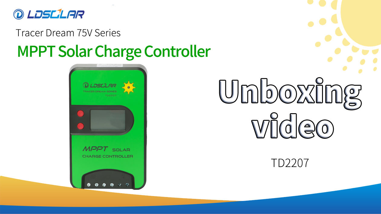 Cina TD2207 Pabrikan Video Unboxing -