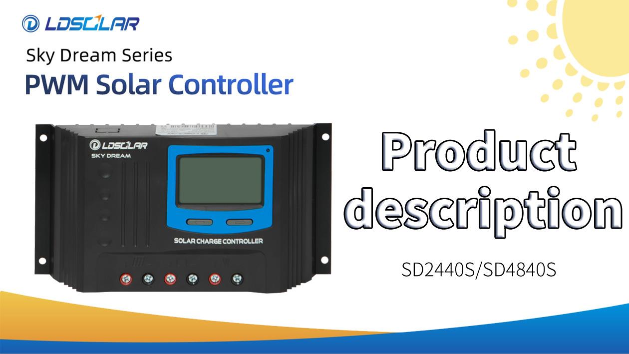 SD2440S PWM solar controller product description from ldsolar