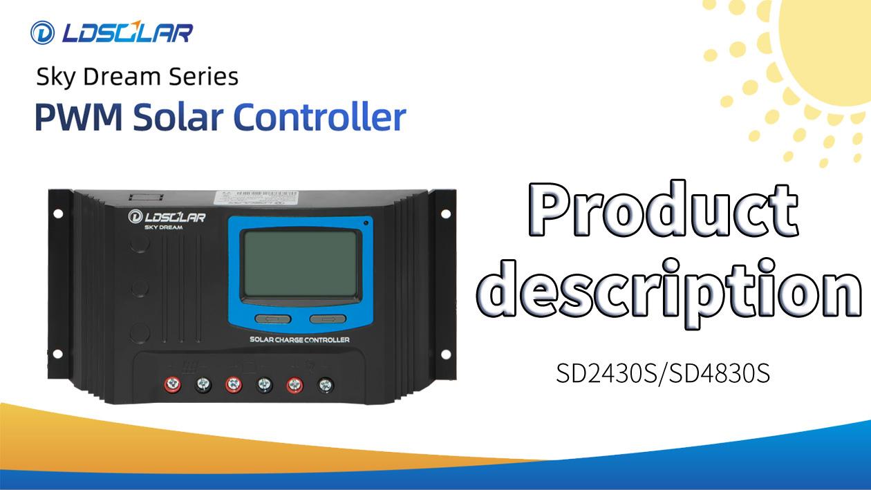 SD2430S PWM Solar Controller Deskripsi Produk Dari LDSolar
