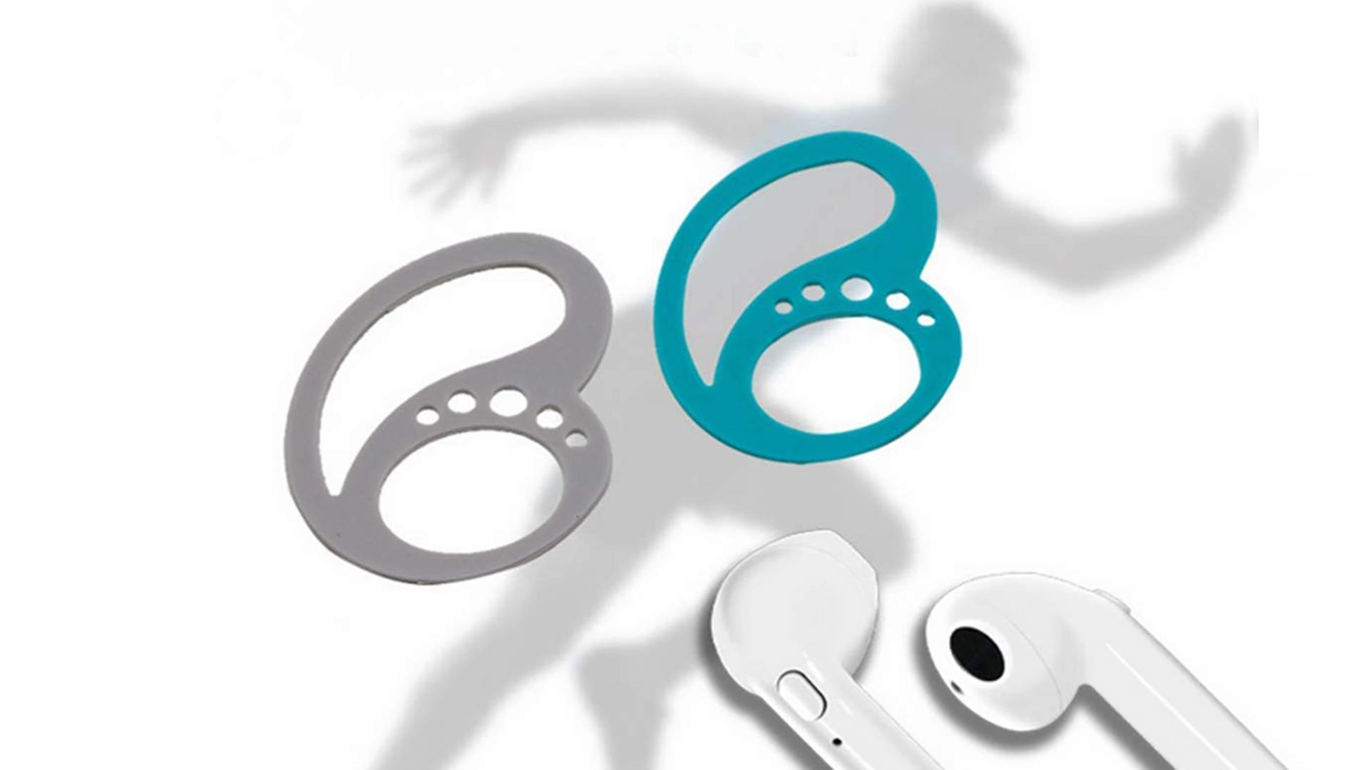 Sportsman Silicone Bluetooth-наушники Anti Fall Holder сохраняют ваши наушники безопасными и анти-потерянными ушными крюками DH-силиконовой производитель