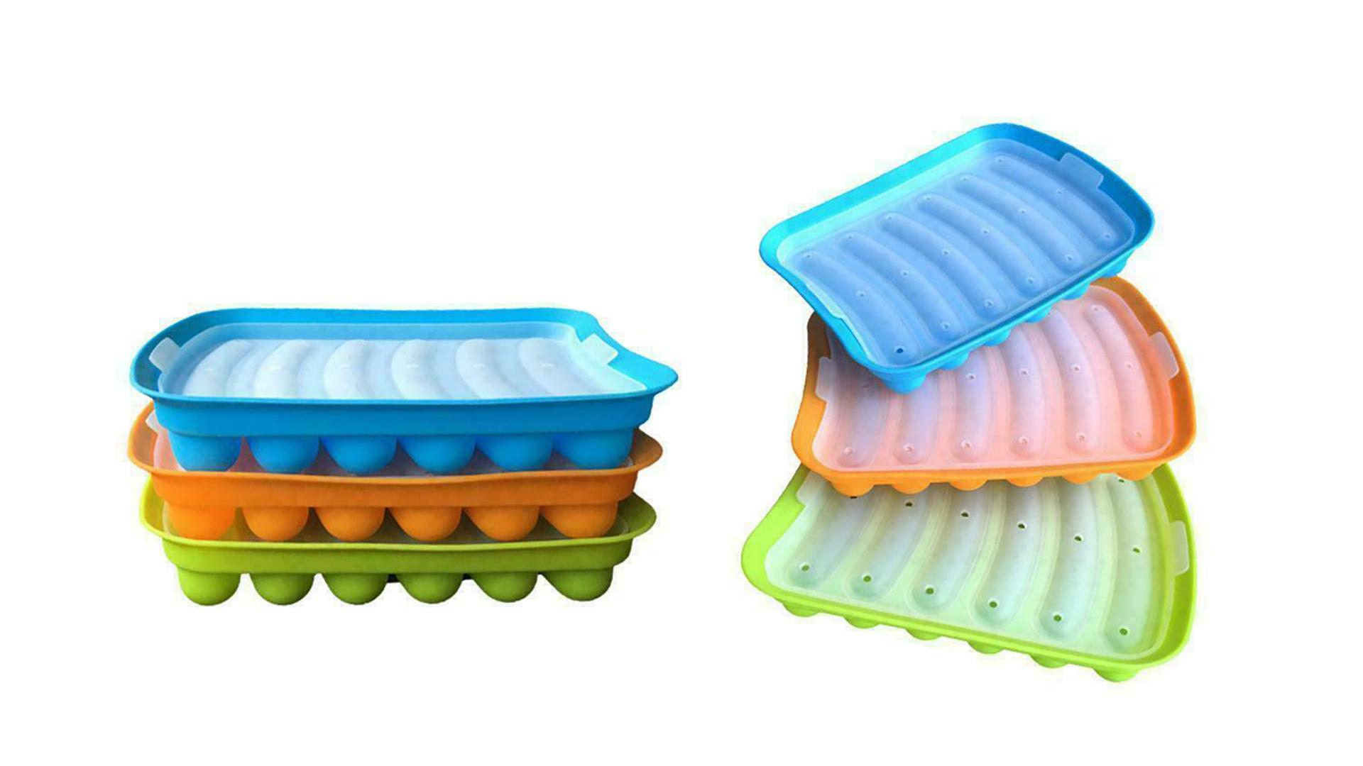 비 스틱 실리콘 소시지 몰드 핫도그 베이킹 금형 베이비의 보충 소시지 금형 DH-Silicone