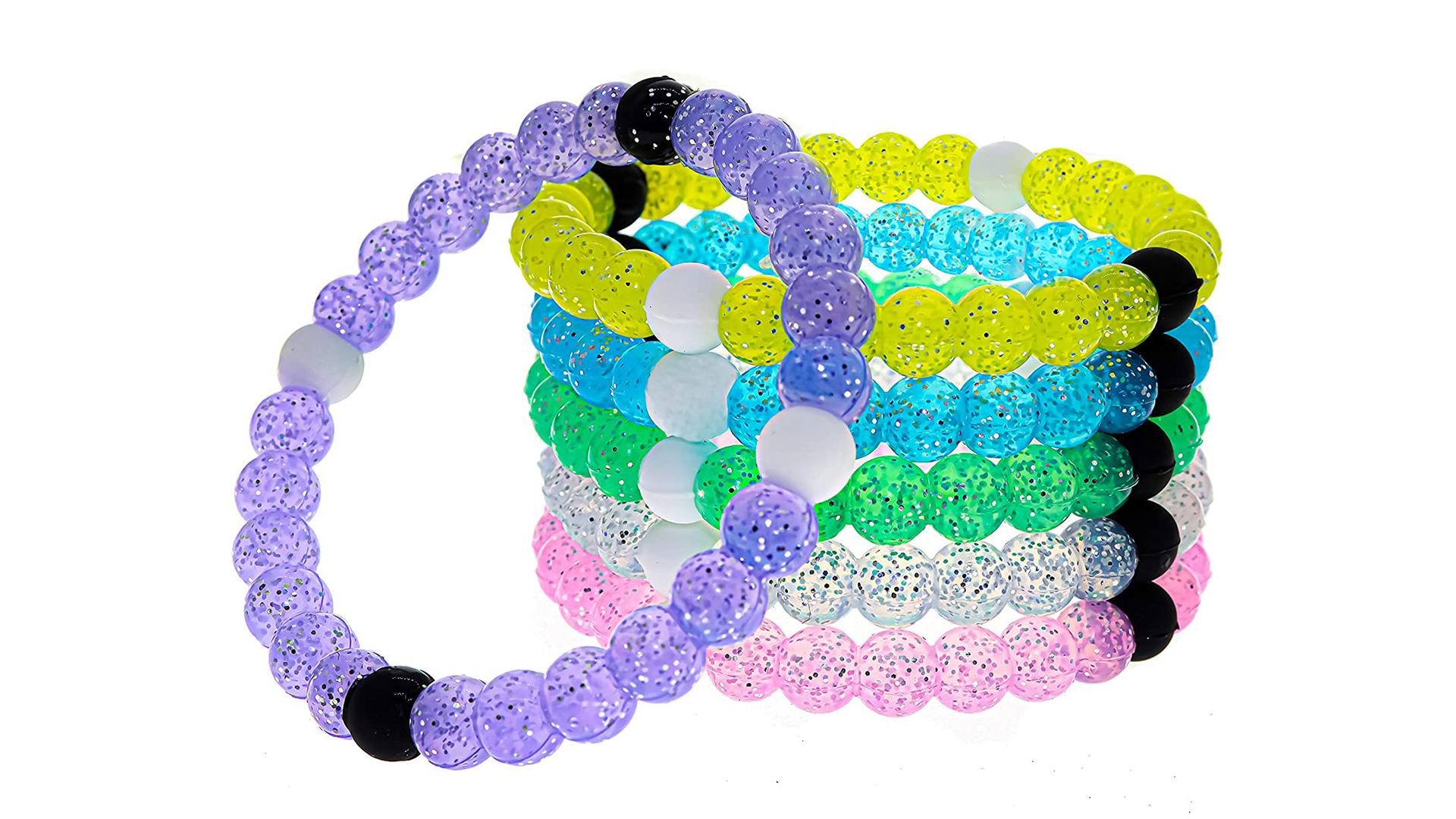 シリコーンのリストバンドUVの太陽の反応性のシリコーンビーズのブレスレットの変化色の色の変化色