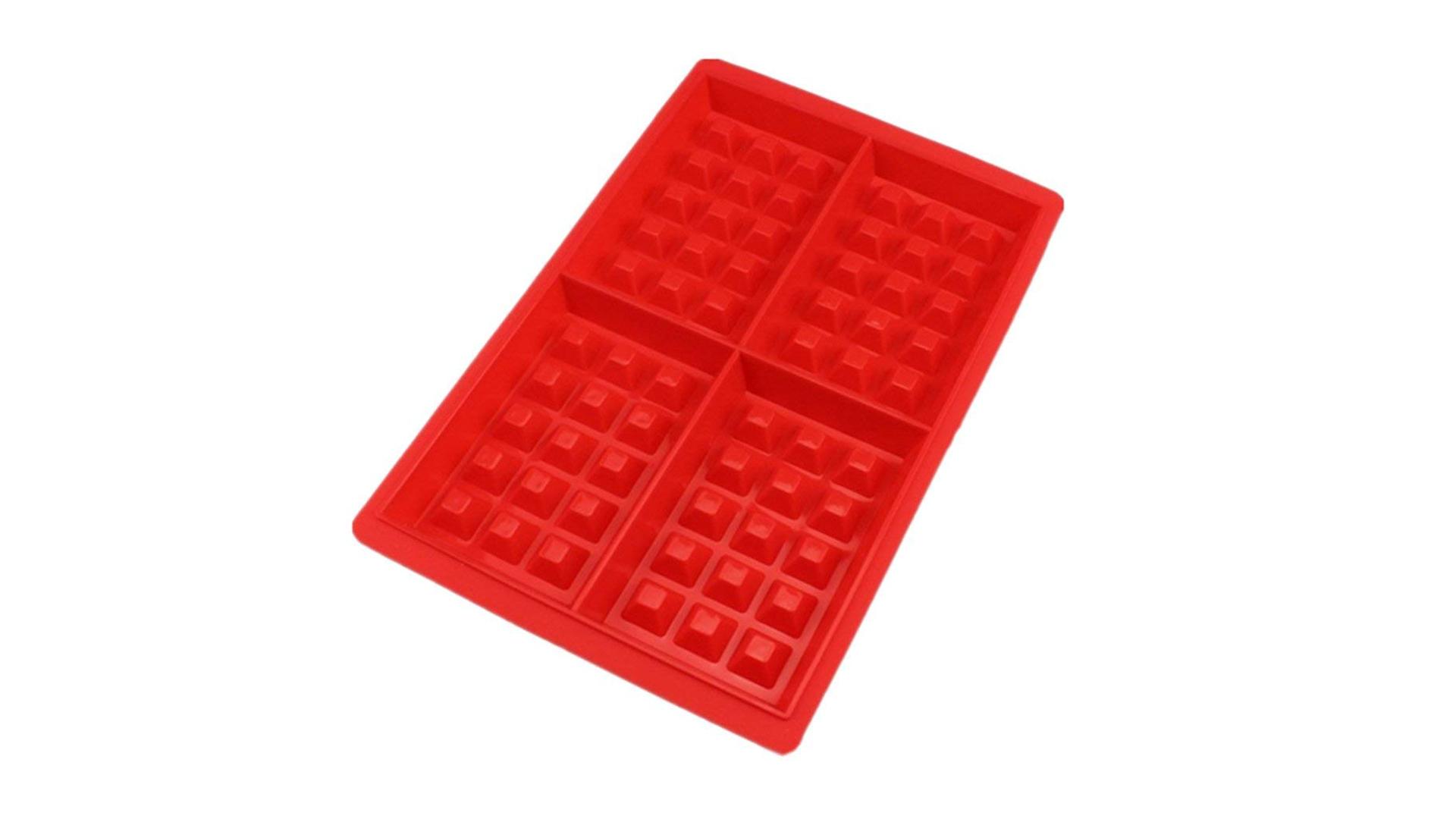 4 полости силиконовые вафельные формы для выпечки прессформы для выпечки плесень для торт шоколада конфеты мыло DH-силиконовые