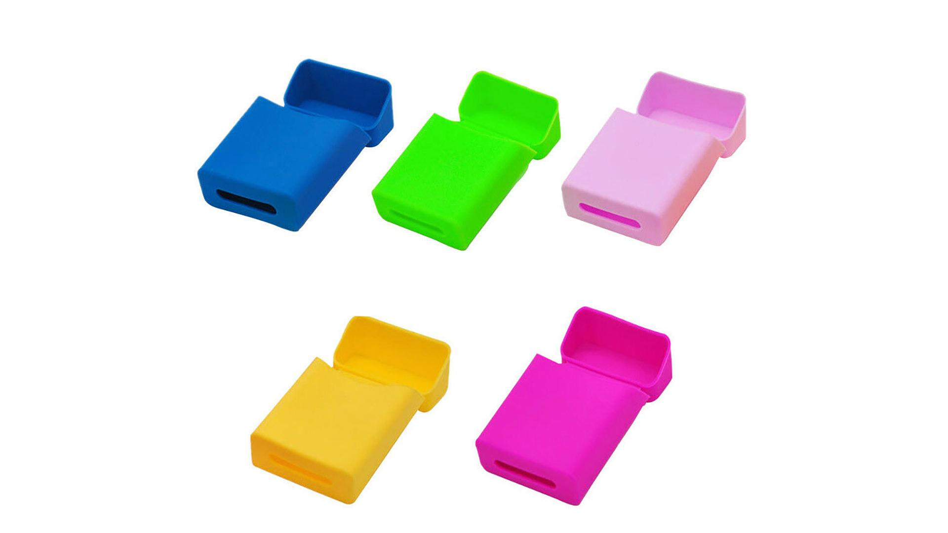 ФАФИН Индивидуальный дизайн Cigarette Case Case Box Силиконовый сигаречный чехол DH-силикон