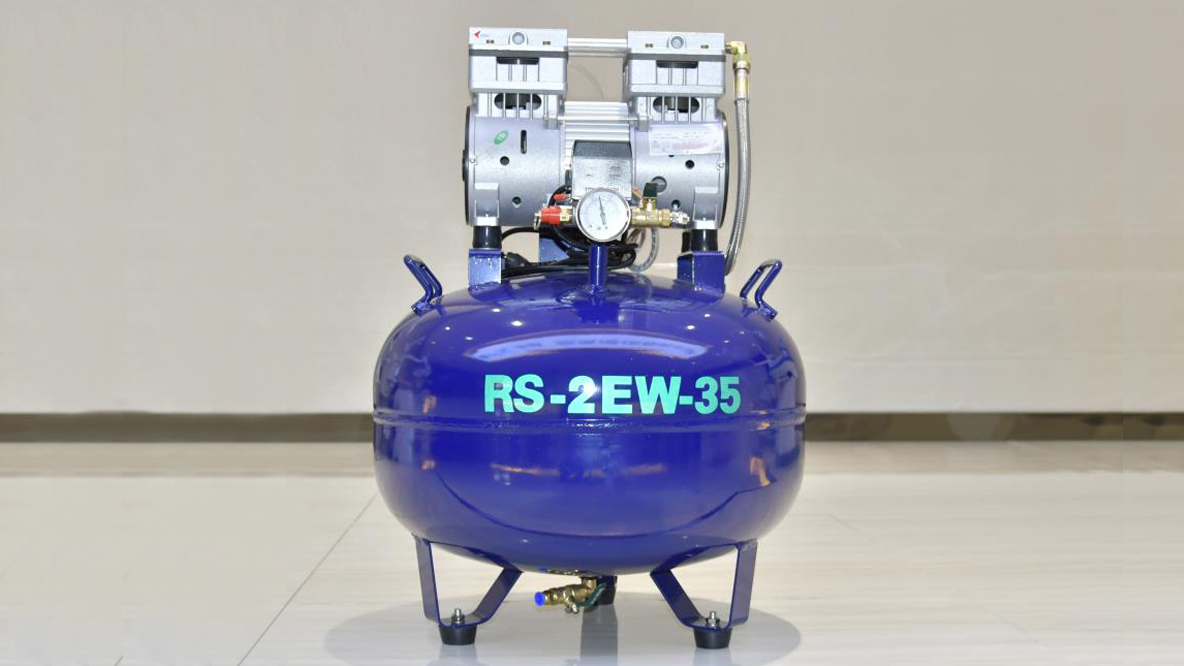 Best small practice dental air compressor RS-2EM-35 (1-2 for users)