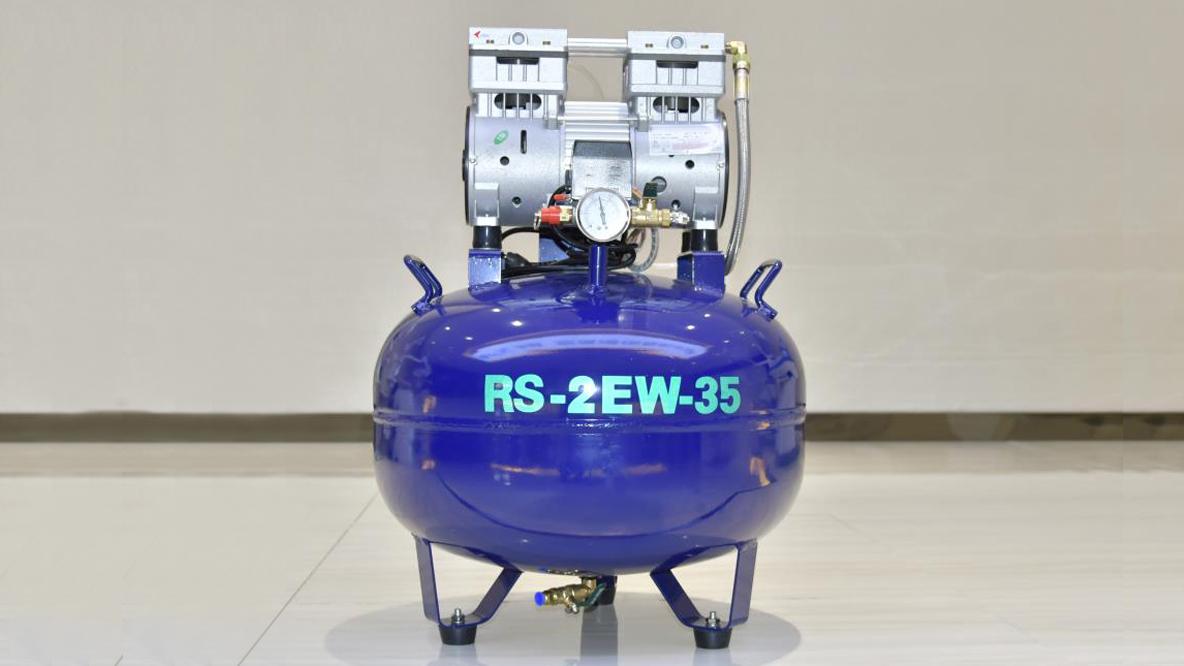 En İyi Küçük Uygulama Dental Hava Kompresörü RS-2EM-35 (1-2 Kullanıcılar için)