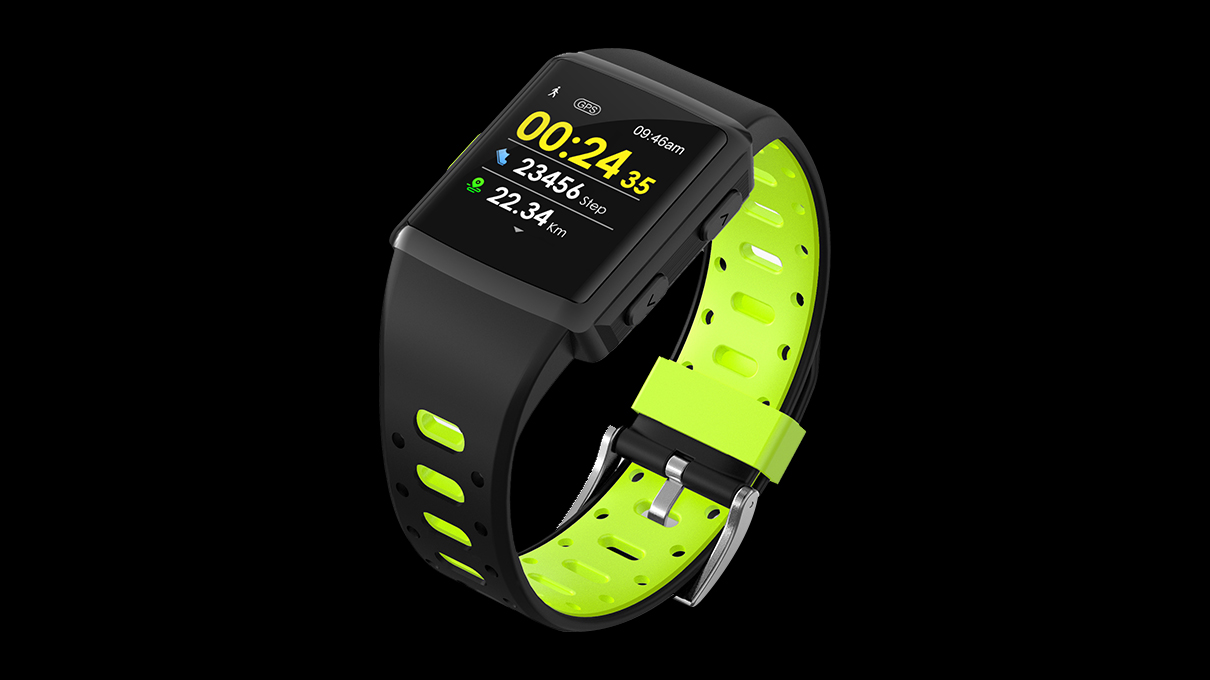 New Sports wholesale Tracker with GPS Multi-sport modes notification music control and IP68 waterproof Smart Watch M3
