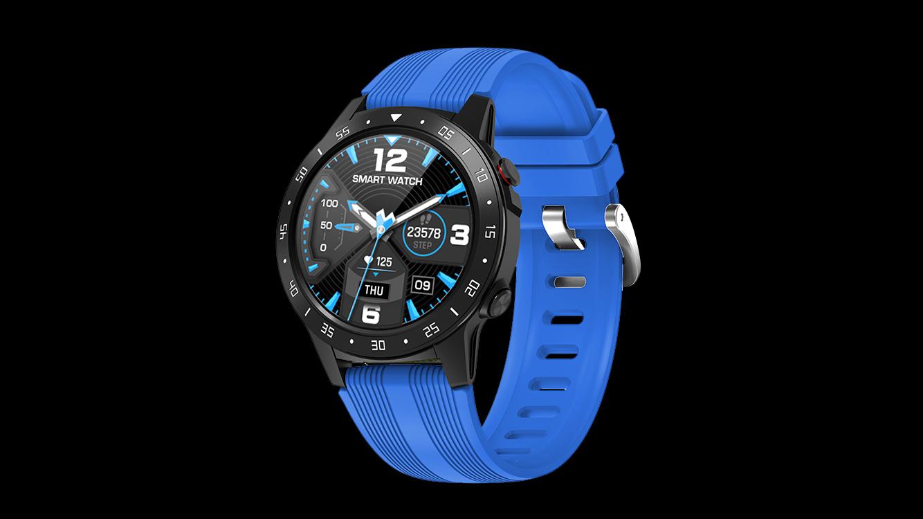 Fabricant Sport GPS GPS Smart Watch avec moniteur de fréquence cardiaque Pression artérielle GPS Sports Smartwatches M5