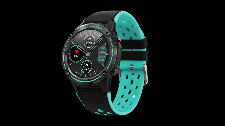 GPS smartwatch bt دعوة ip67 للماء ضغط الدم معدل ضربات القلب سوار البوصلة المعصم الرجال ووتش M6