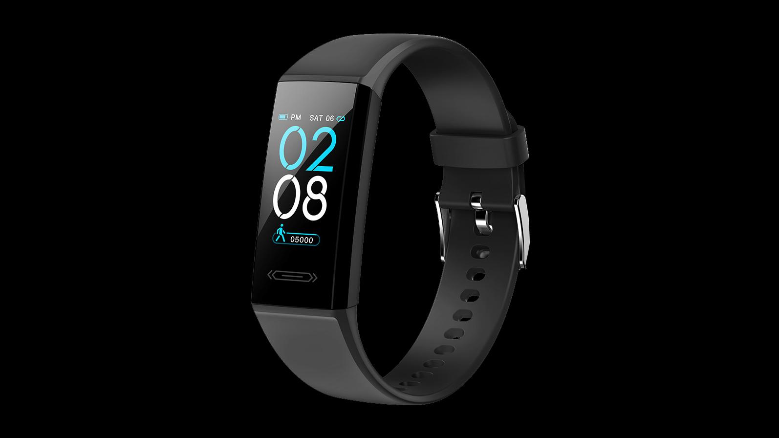 Ciało Temperatura Inteligentna Bransoletka Tętna Smart Band Fitness Tracker Smart Watch Band Inteligentny Nadgarstek V100S