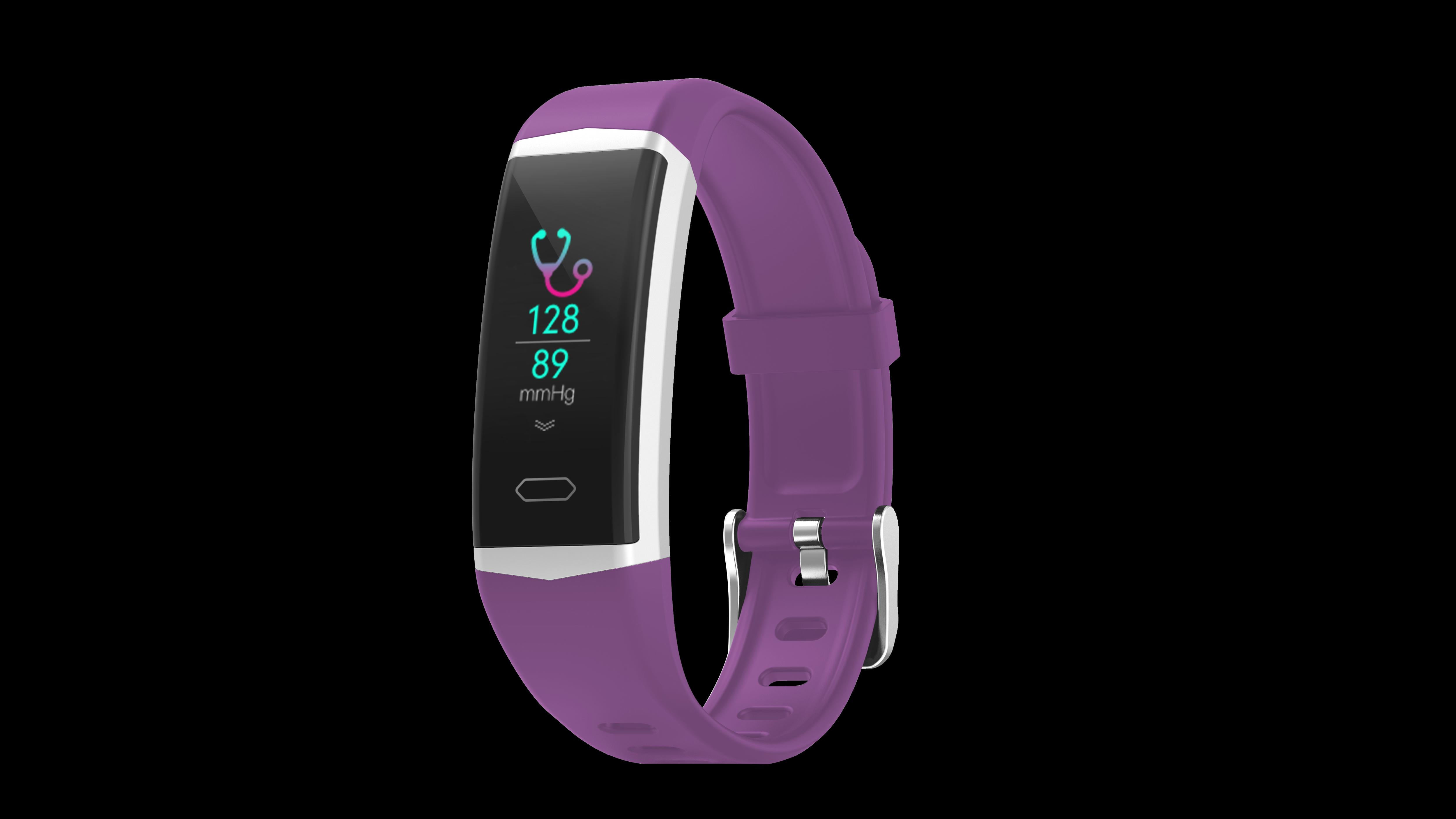 GPS Smart Bransoletka IP68 Wodoodporna Tętna Ciśnienie krwi Fitness Tracker Health Sport Watch B5