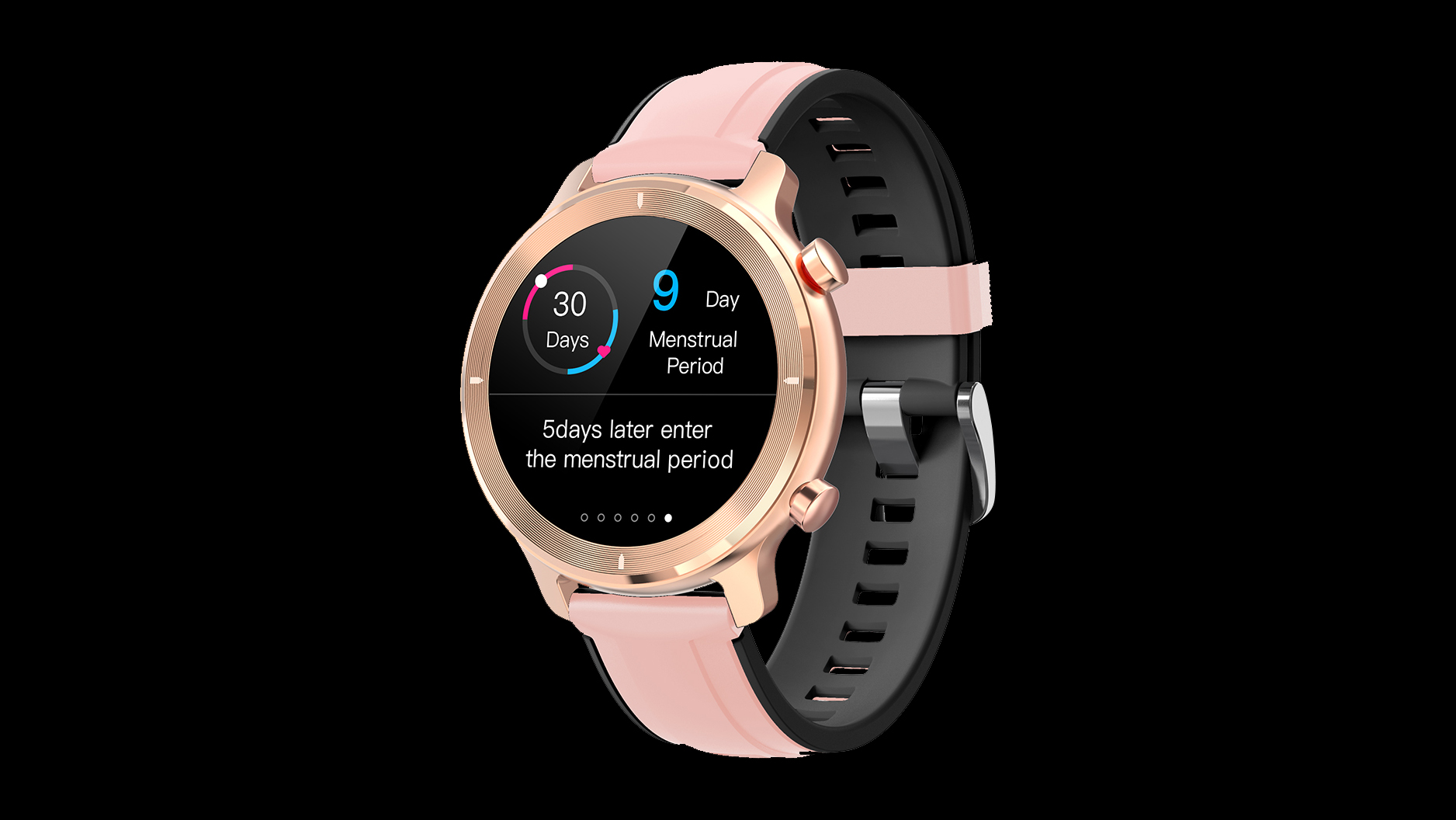Smart wristband IP68 waterproof menstrual reminder heart rate monitor male and female Bt5.0 smartwatch R4