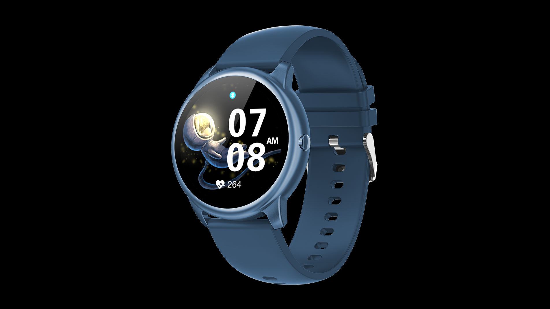2021 Najnowszy inteligentny zegarek z pełnym okrągłym ekranem HD dotknięciem SmartWatch Blue Tooth Wywołanie inteligentnych zegarków