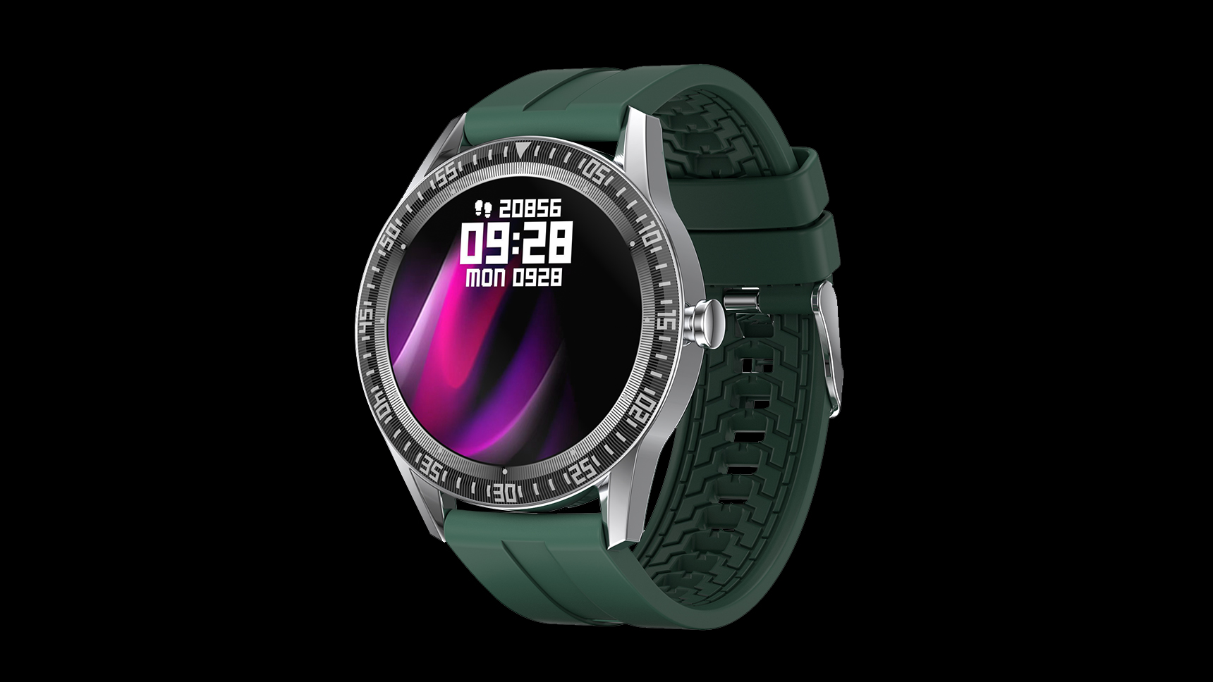 OEM/ODM 1.28 inch full touch round call smart watch N70 with fashionable UI Heart Rate Blood pressure monitor