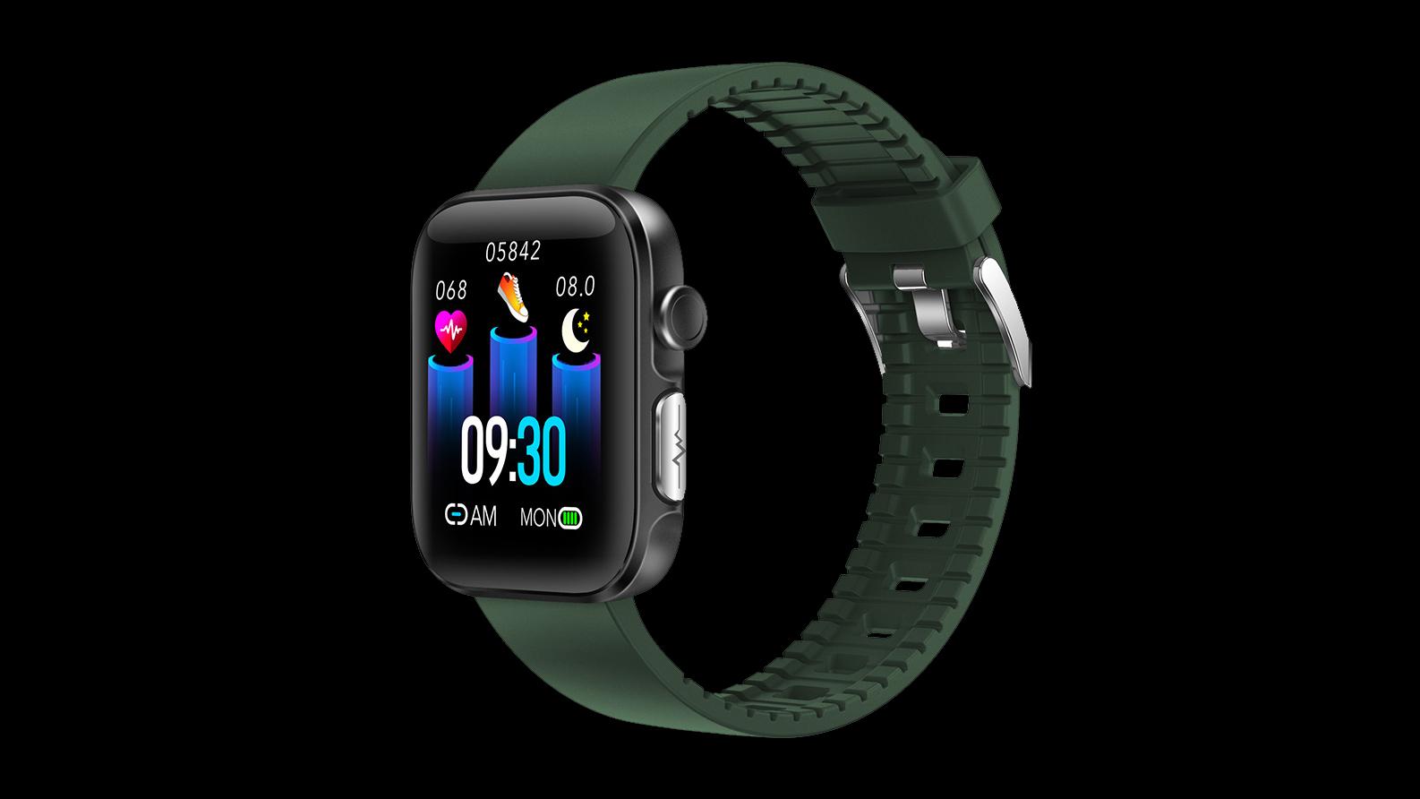 IP68 ماء ملون شاشة تعمل باللمس كامل الرياضة حركة القلب حركة مراقبة الذكية ووتش GT2