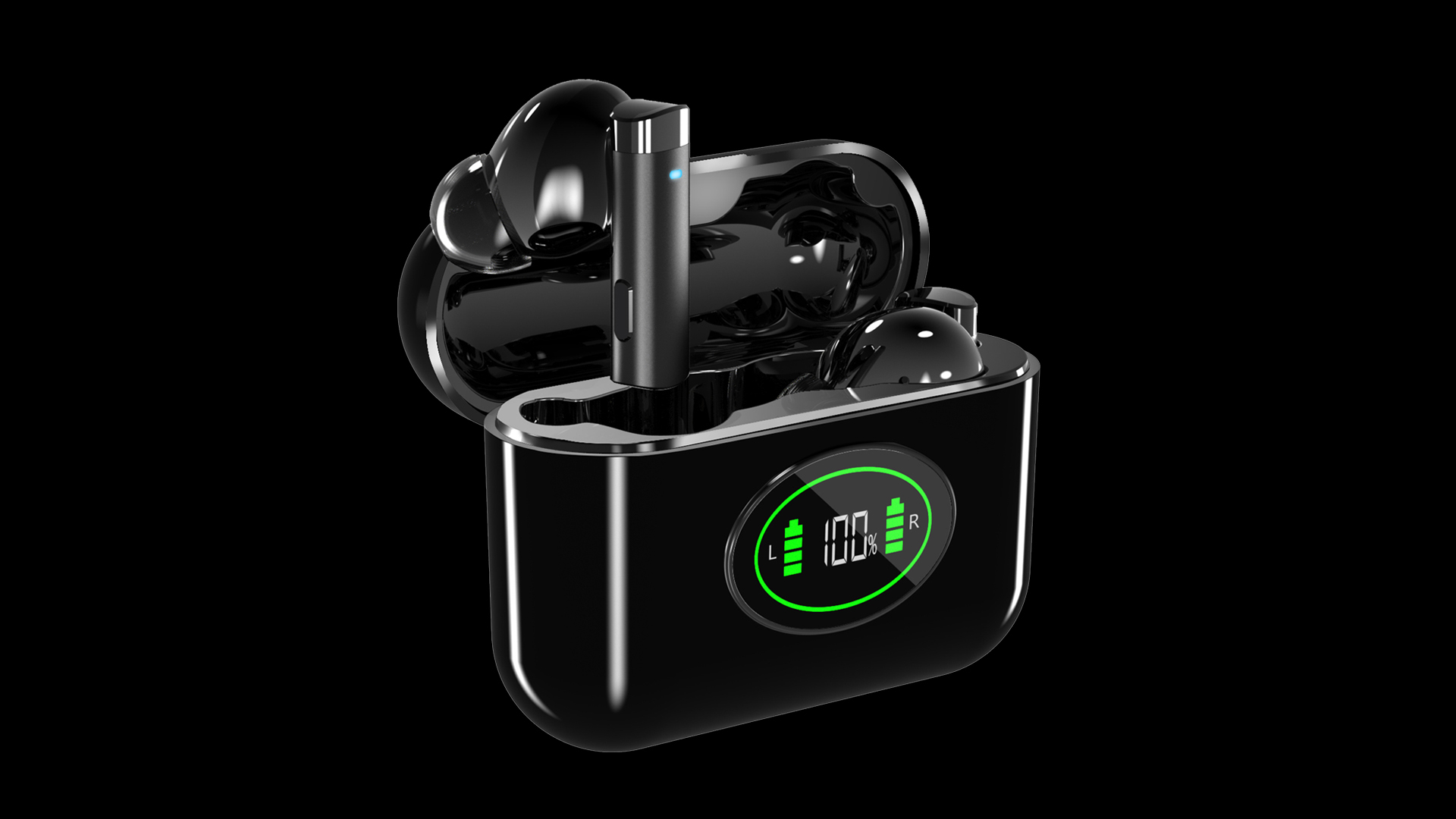 H1 Pro TWS Earphone Wireless Bluetooth Earphones Gaming Headset Stereo Bass With Mic Noise Reduction