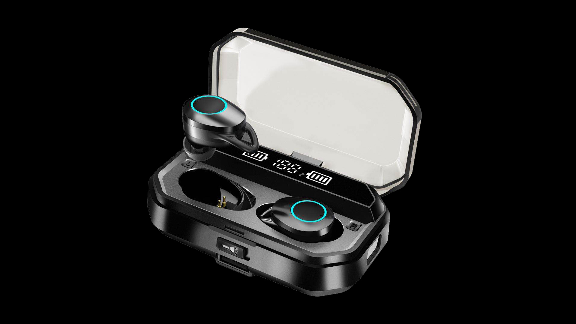 Benutzerdefinierte Gaming Headset MI Air Tube Wireless Handfree Power Bank Funktion Zahn Kopfhörer Stereo Ohrhörer Ohr Telefon T19