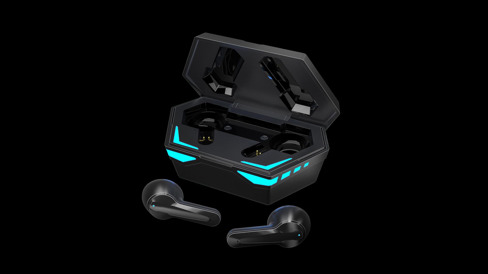 Neueste Mini Wasserdichte und Geräuschreduzierung Tws Wireless 5.0 Ohrhörer LED-Anzeige Mobiltelefon Kopfhörer Bluetooth-Kopfhörer X23