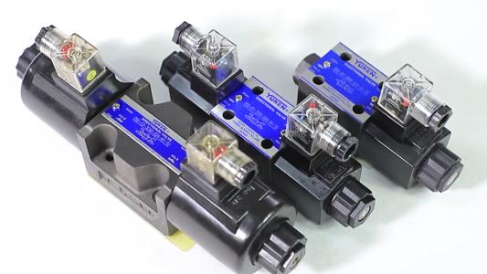 DC 솔레노이드 밸브가있는 유압 솔레노이드 밸브 DSG-01 / DSG-03