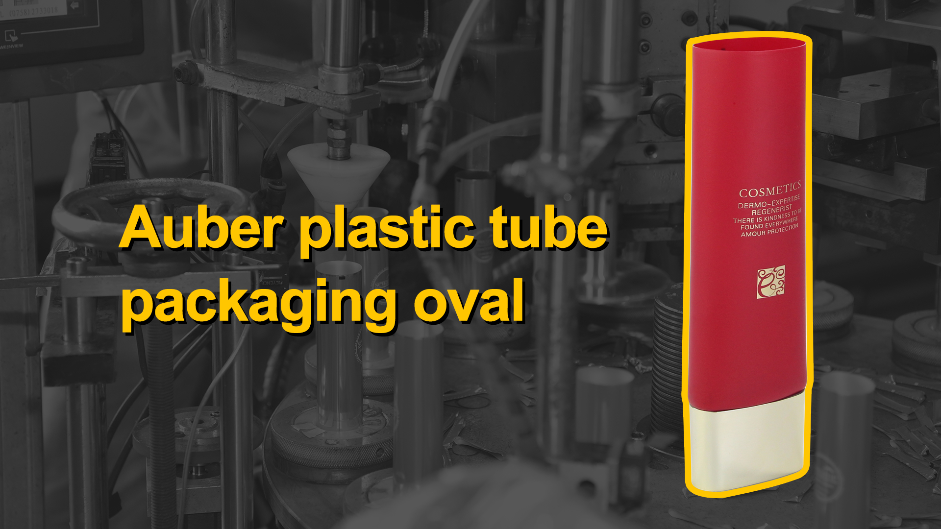 China plastic tube packaging oval manufacturers - Auber Packaging
