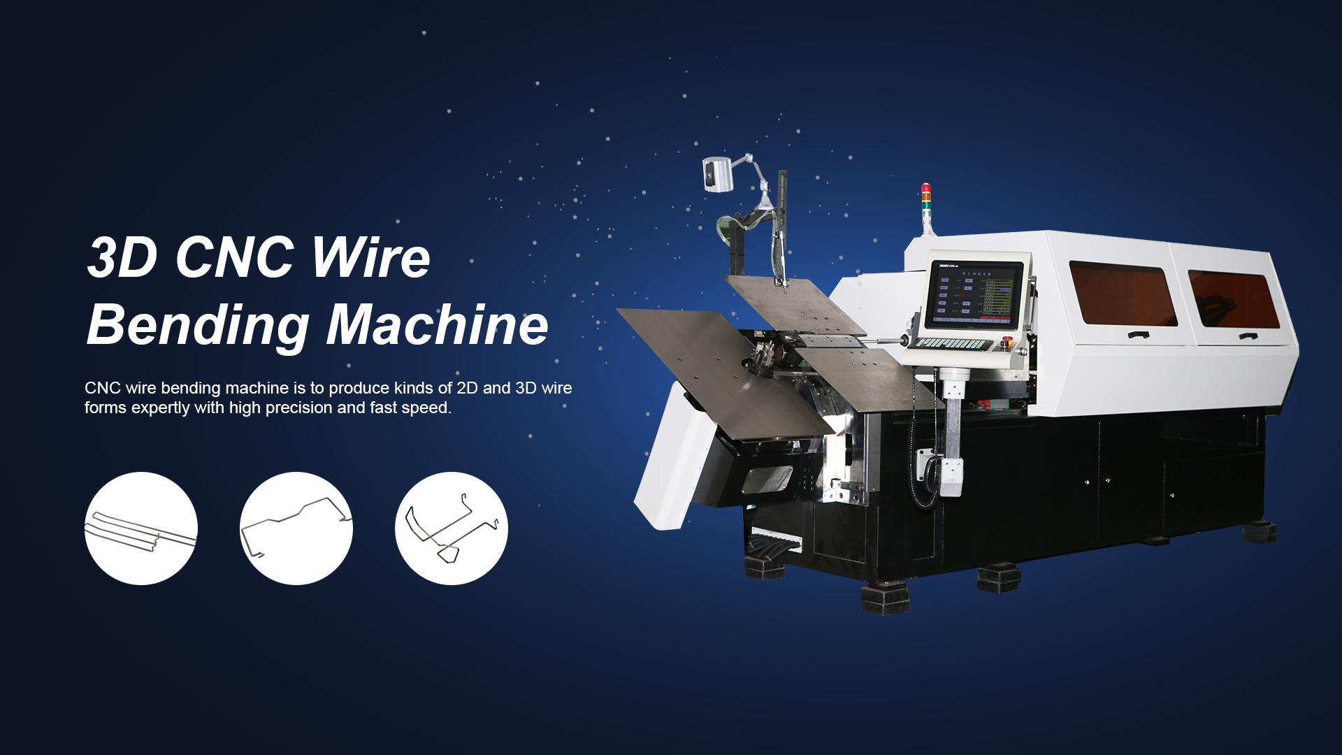 3D CNC الأسلاك الانحناء آلة