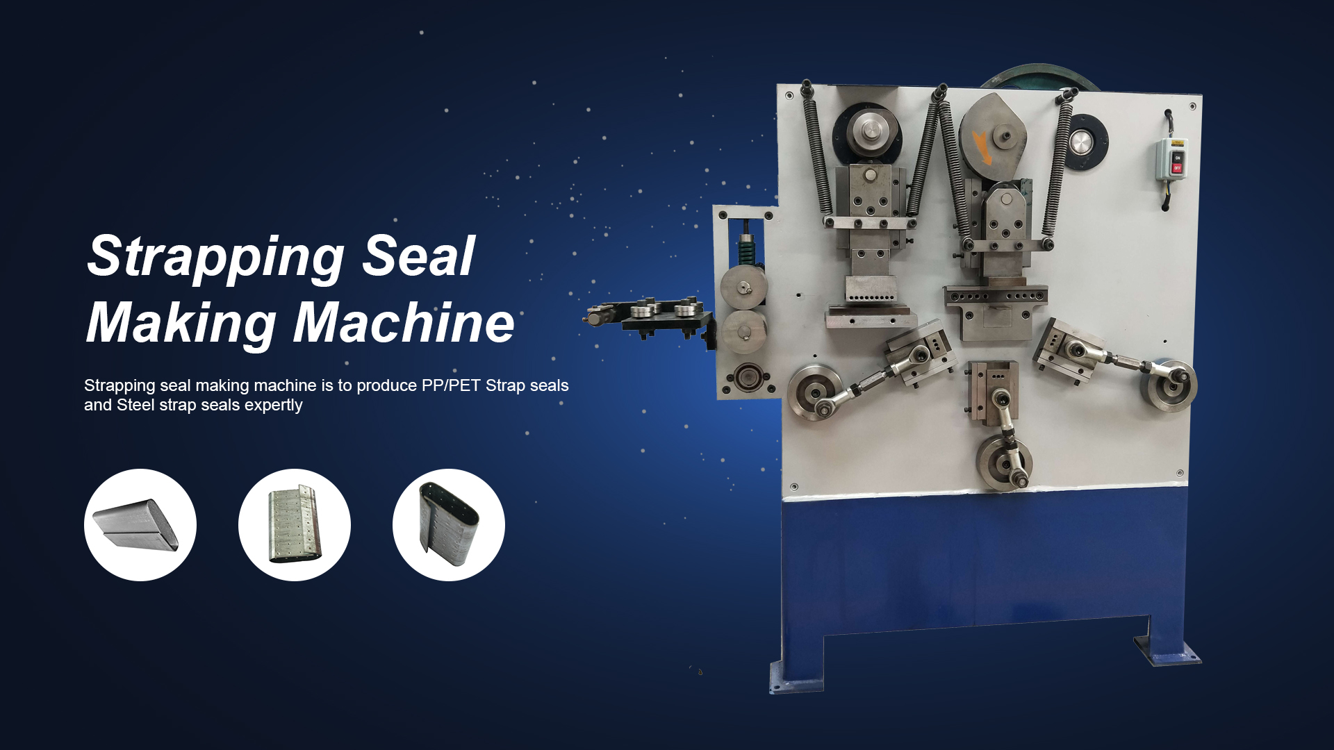Automatic Strapping Seal Machine
