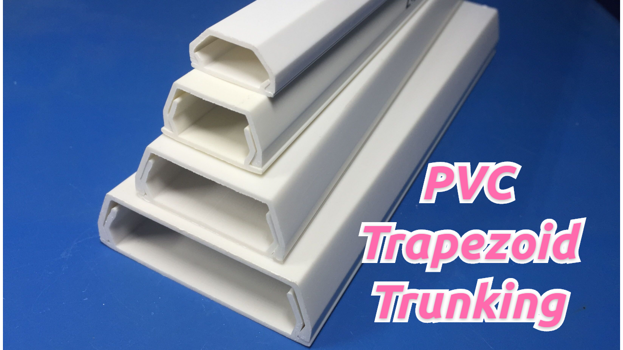 High Quality PVC Trapezoid Trunking Wholesale
