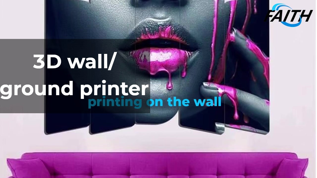 Многофункциональный 3D настенный принтер на стене / на земле вера