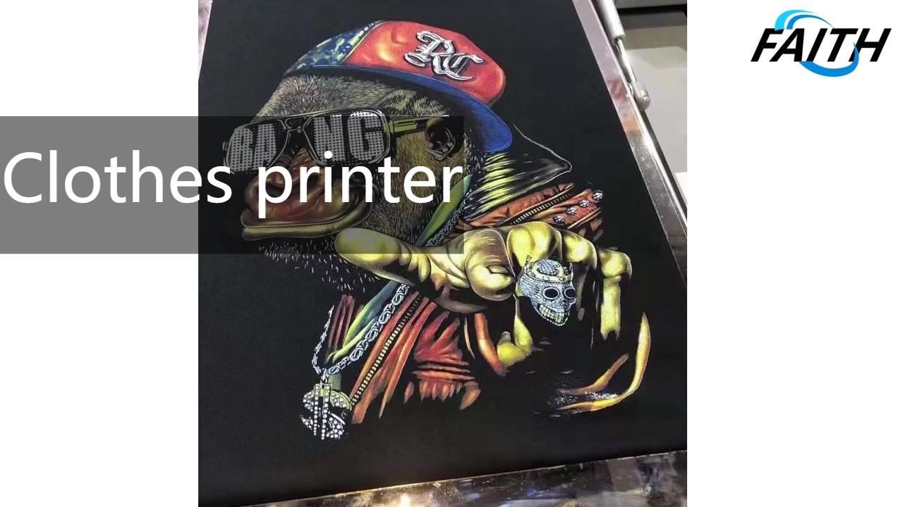 Профессиональная вера 3D принтер непосредственно печать на одеждах производителей