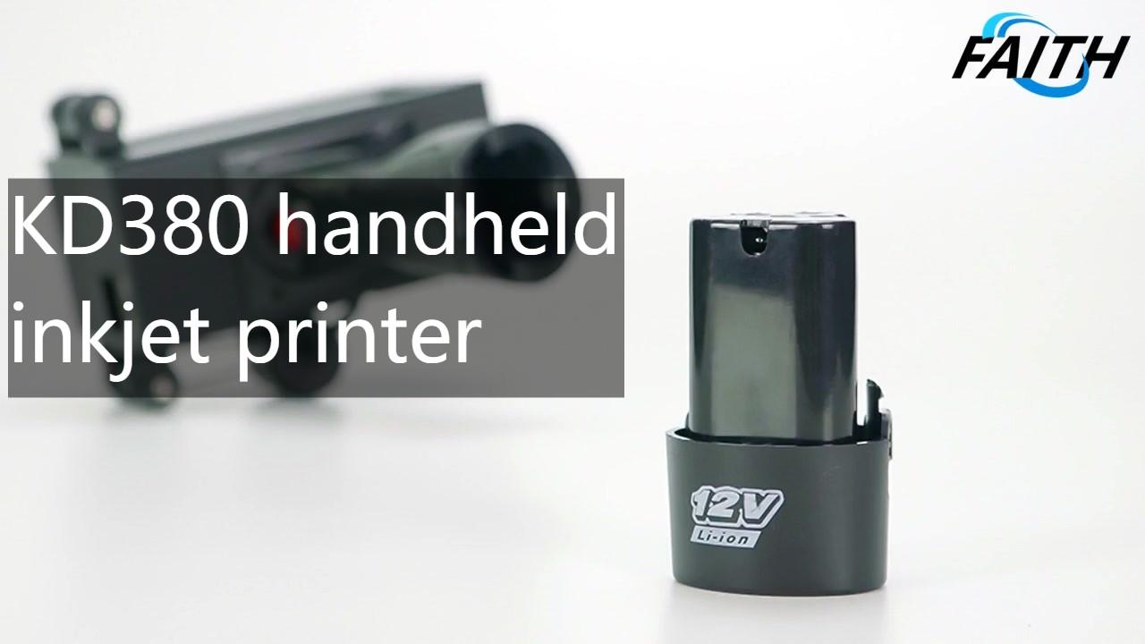 Китай Вера Горячие продажи Tij Handheld струйный принтер Display-KD380