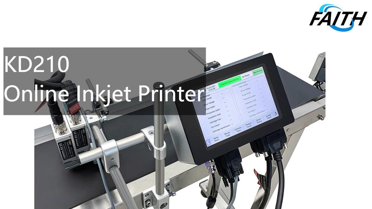 Tij inkjet Printer-KD210