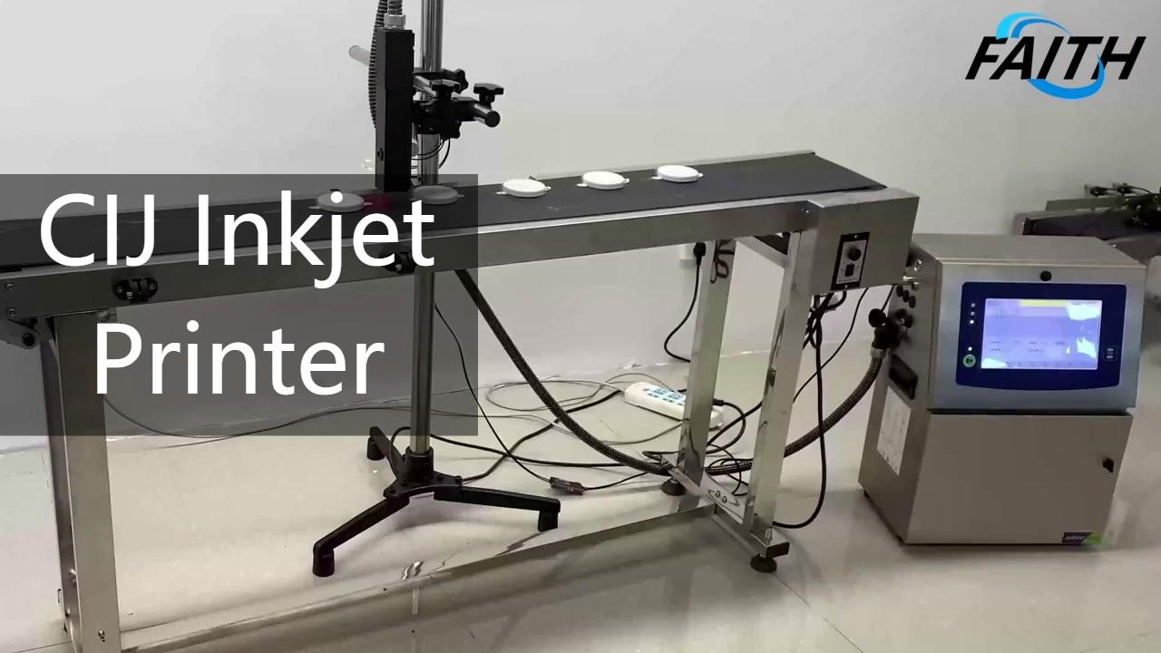 China cij inkjet printer manufacturer manufacturers - Faith