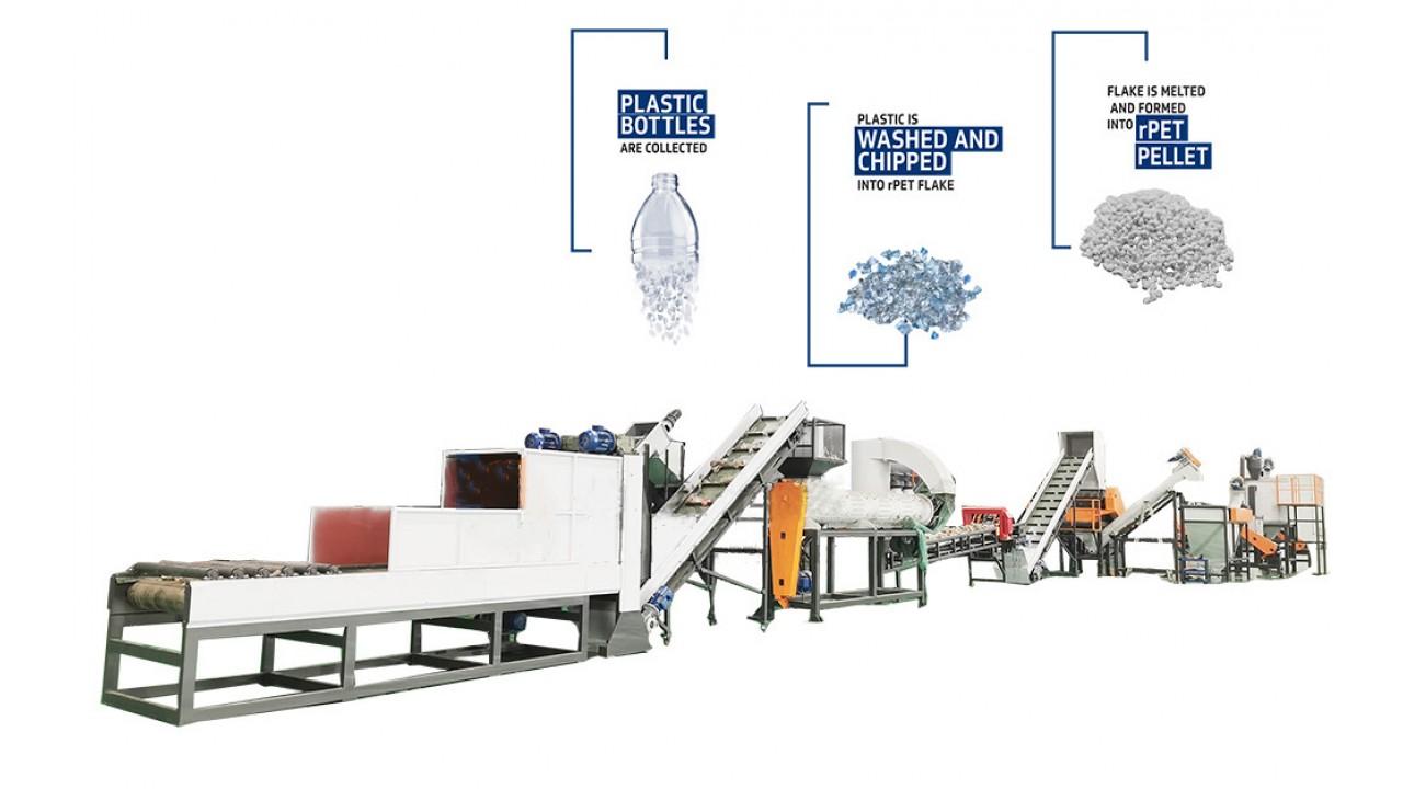 PET Bottle Recycling Machine 500kg/hr manufacturers