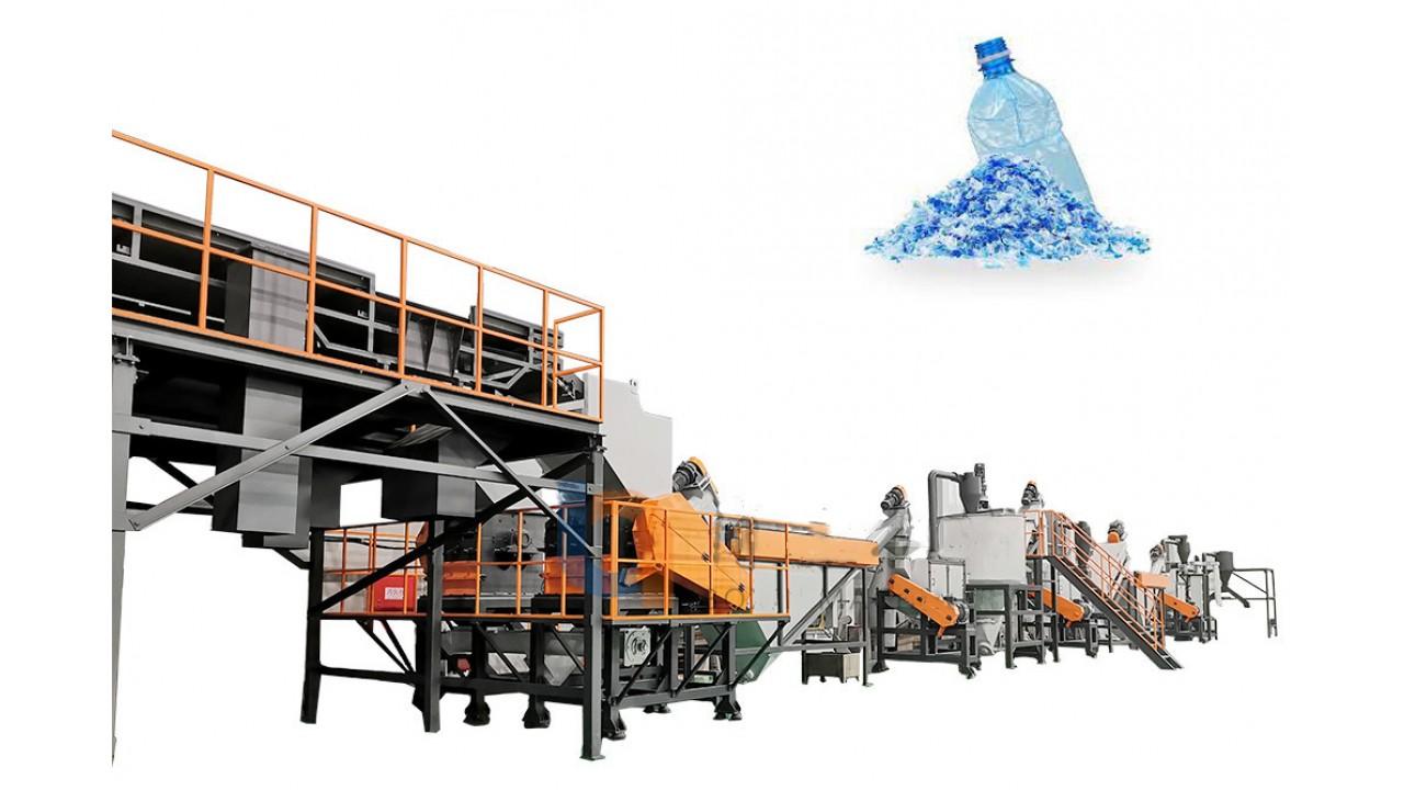 PET Recycling Machine 2000kg/hr