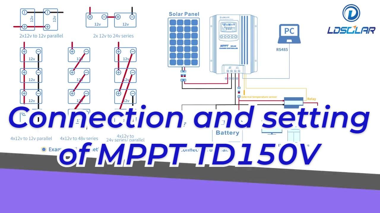 चीन कनेक्शन और एमपीपीटी टीडी 150 वी निर्माताओं की सेटिंग-