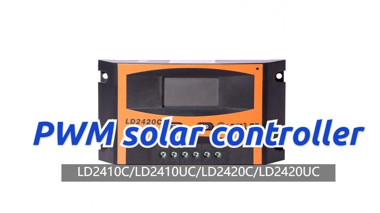 Лучший PWM солнечный контроллер LD2420C поставщик