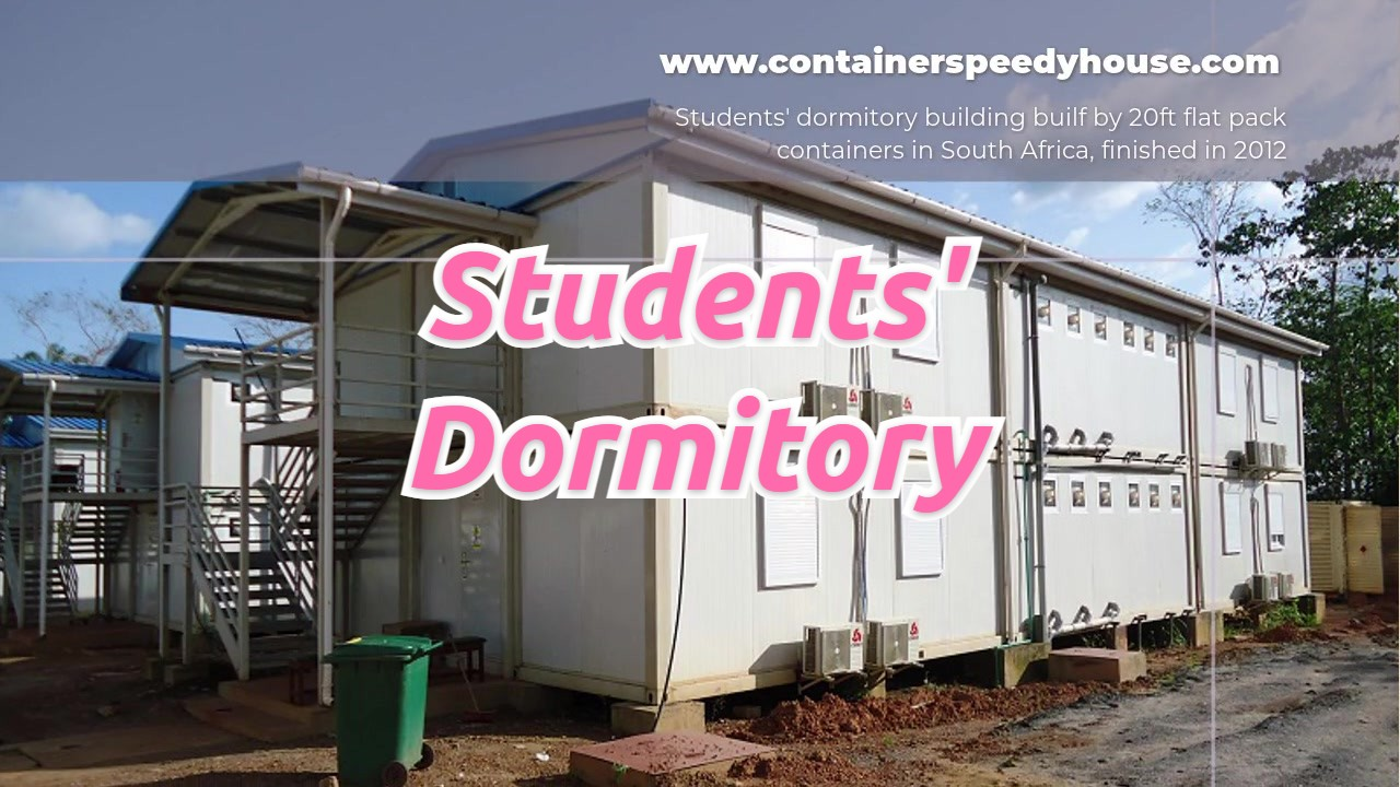 Students' Dormitory in South Africa