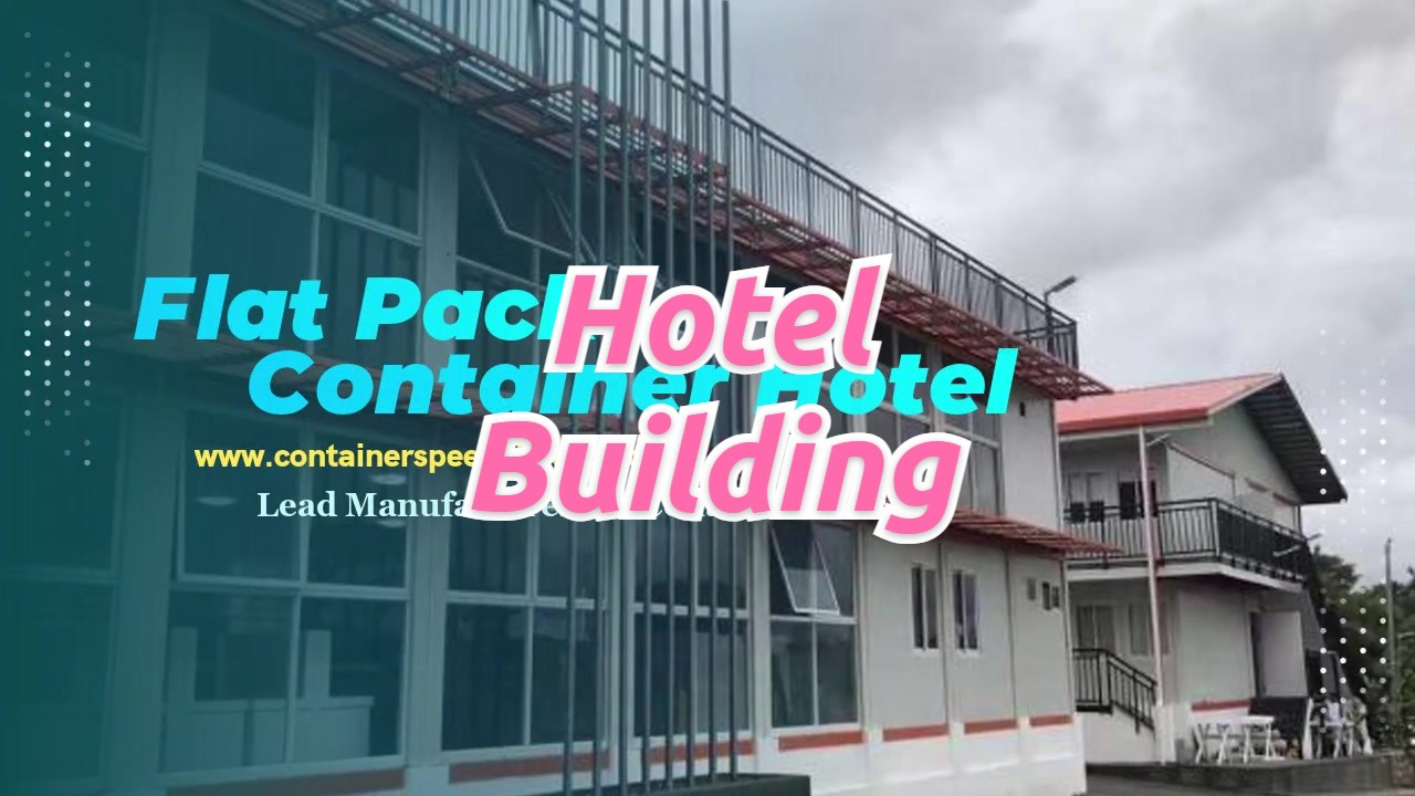 2-floor Container Hotel Building